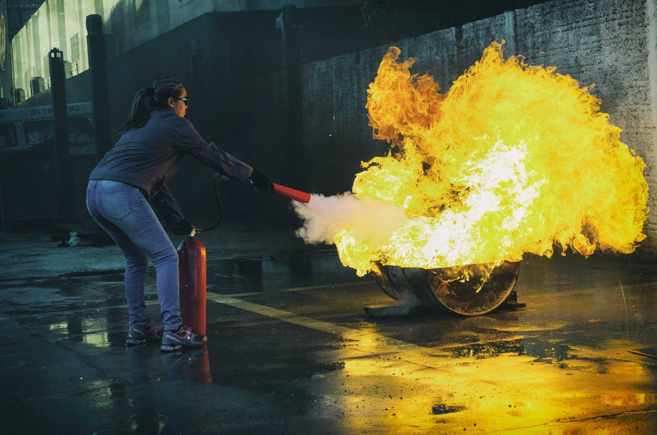 Brandschutzleitfaden für Zuhause